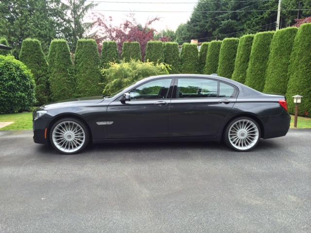 750 Li with Alpina Wheels
