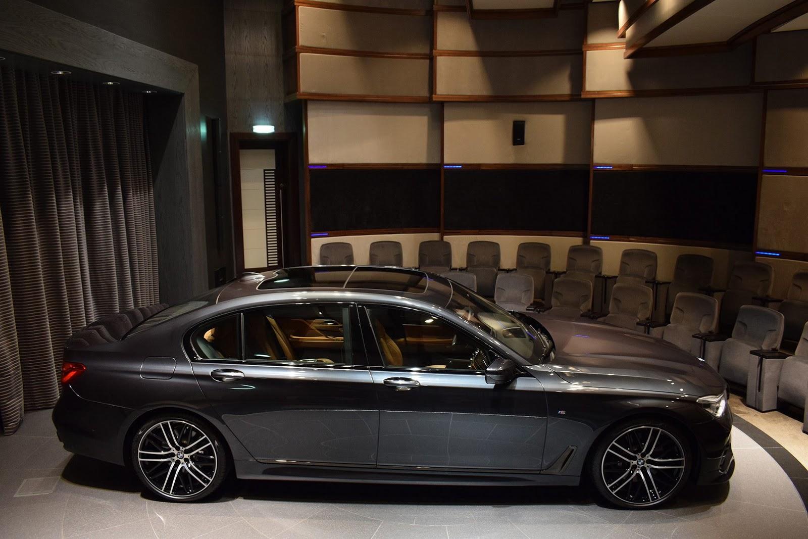 BMW Convertible 2004 bmw 750 Abu Dhabi BMW Adorns BMW 750Li With 3D Design and M Performance Parts
