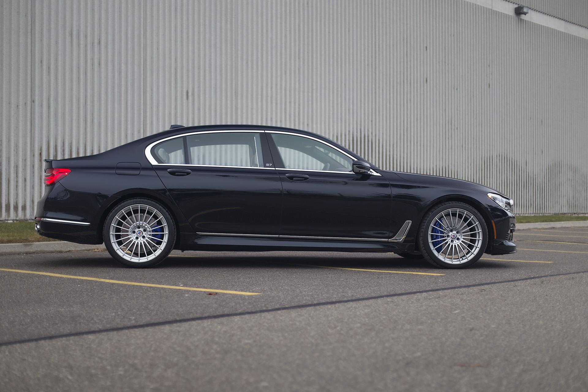 2017 BMW B7 Alpina  Azurite Black on Smoke White Updated Pictures