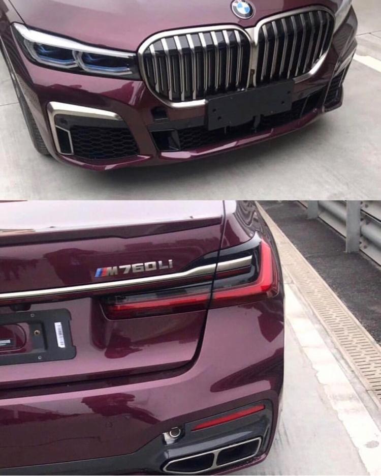 2020 BMW (G11/G12) 7 Series LCI Facelift LEAKED