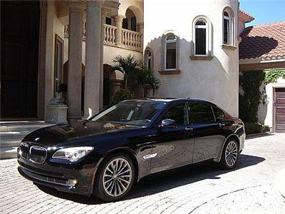 FS: F02 2009 BMW 750Li - Rear Seat Ent. + Reclining Rear Seats + ...
