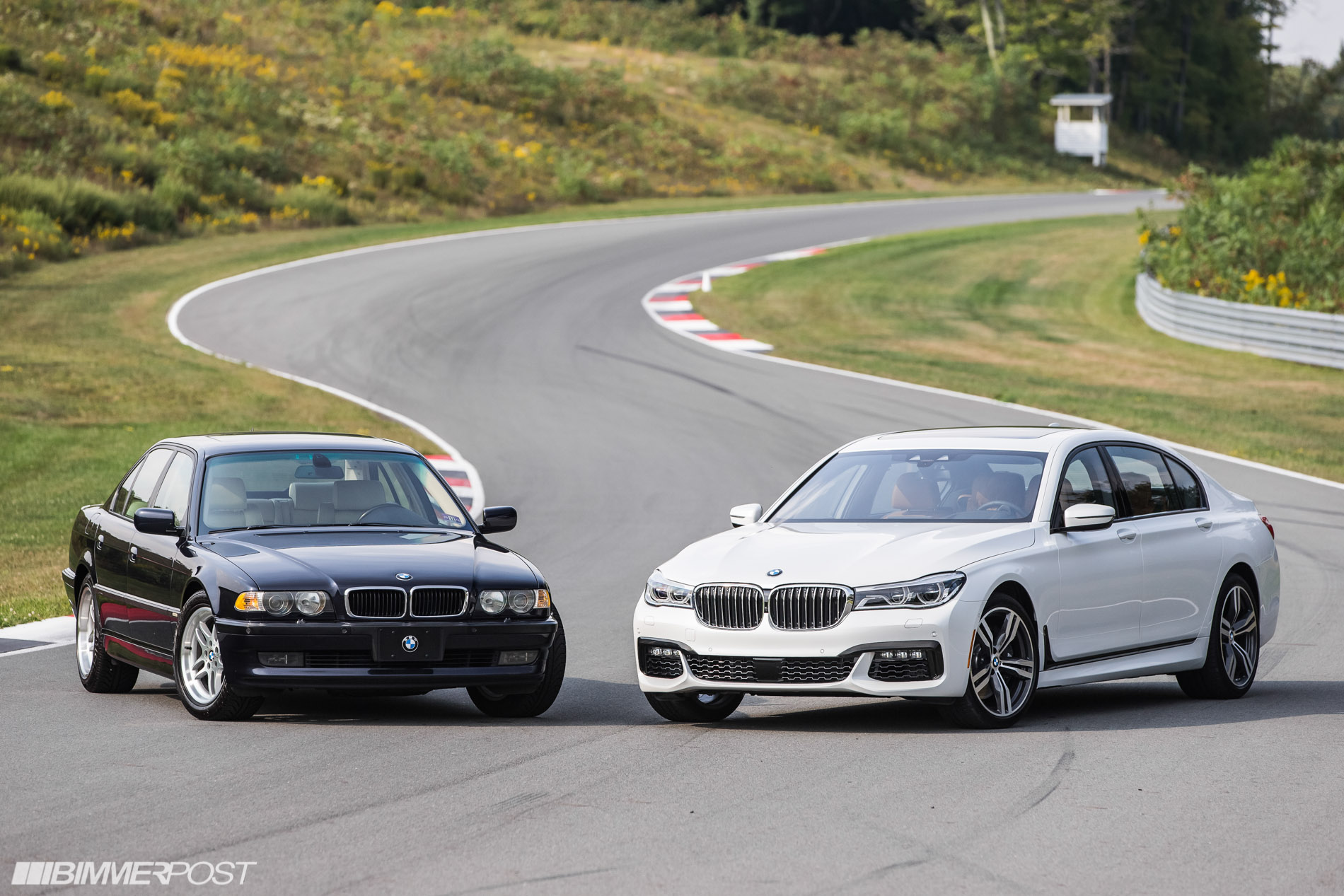 G11 G12 Bmw 7 Series Lineage Shoot