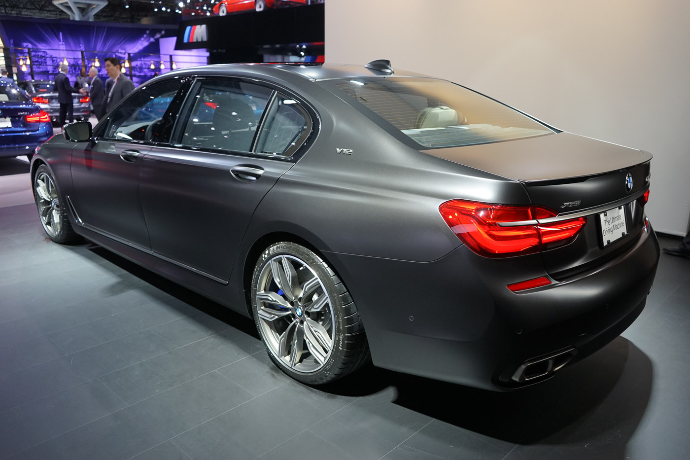 BMW M760i V12 At 2016 NYIAS Alpina